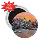 Jane s Winter Sunset by Ave Hurley - 2.25  Magnet (100 pack)