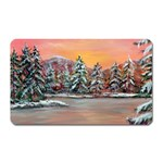 Jane s Winter Sunset by Ave Hurley - Magnet (Rectangular)
