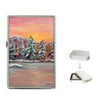 Jane s Winter Sunset by Ave Hurley - Flip Top Lighter