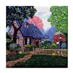 Essex Cottage by Ave Hurley - Tile Coaster