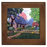 Essex Cottage by Ave Hurley - Framed Tile