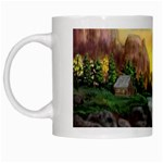 Brenton s Waterfalls by Ave Hurley - White Mug