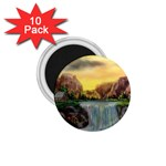 Brenton s Waterfalls by Ave Hurley - 1.75  Magnet (10 pack)