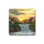 Brenton s Waterfalls by Ave Hurley - Magnet (Square)