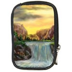 Brenton s Waterfalls by Ave Hurley - Compact Camera Leather Case