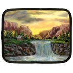 Brenton s Waterfalls by Ave Hurley - Netbook Case (XXL)