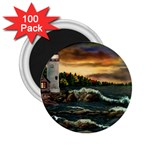 David s Lighthouse by Ave Hurley - 2.25  Magnet (100 pack)
