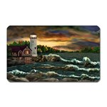 David s Lighthouse by Ave Hurley - Magnet (Rectangular)