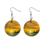 Sunset Of Hope (2mb) 1  Button Earrings