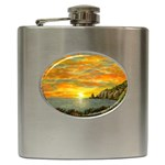 Sunset Of Hope (2mb) Hip Flask (6 oz)