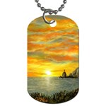 Sunset Of Hope (2mb) Dog Tag (Two Sides)