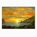 Sunset of Hope- by AveHurley-ArtRevu- Postcard 5  x 7