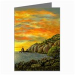 Sunset of Hope- by AveHurley-ArtRevu- Greeting Card