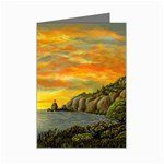 Sunset of Hope- by AveHurley-ArtRevu- Mini Greeting Card