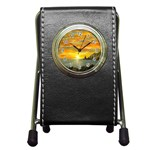 Sunset Of Hope (2mb) Pen Holder Desk Clock