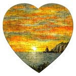 Sunset Of Hope (2mb) Jigsaw Puzzle (Heart)