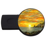 Sunset Of Hope (2mb) USB Flash Drive Round (4 GB)