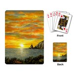 Sunset Of Hope (2mb) Playing Cards Single Design