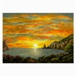 Sunset Of Hope (2mb) Glasses Cloth (Large, Two Sides)