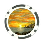 Sunset Of Hope (2mb) Poker Chip Card Guard (10 pack)
