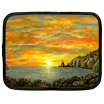 Sunset Of Hope (2mb) Netbook Case (XXL)