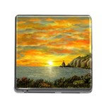 Sunset Of Hope (2mb) Memory Card Reader with Storage (Square)