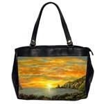 Sunset Of Hope (2mb) Oversize Office Handbag (Two Sides)