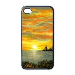 Sunset Of Hope (2mb) Apple iPhone 4 Case (Black)