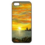 Sunset Of Hope (2mb) Apple iPhone 5 Seamless Case (Black)