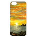 Sunset Of Hope (2mb) Apple iPhone 5 Seamless Case (White)