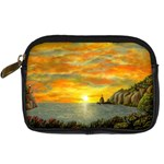 Sunset of Hope by Ave Hurley - Digital Camera Leather Case
