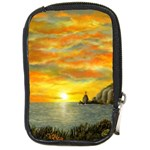 Sunset of Hope by Ave Hurley - Compact Camera Leather Case