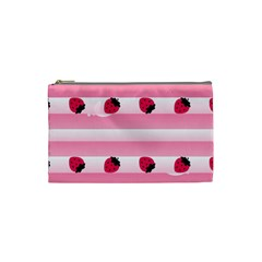 Strawberry Cream Cake Cosmetic Bag (small) by strawberrymilk