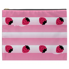 Strawberry Cream Cake Cosmetic Bag (xxxl) by strawberrymilk