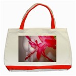Christmas Cactus And Two Glasses2700x2100 Classic Tote Bag (Red)