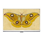 Vintage Moth Business Card Holder
