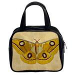 Vintage Moth Classic Handbag (Two Sides)