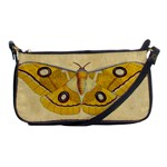 Vintage Moth Shoulder Clutch Bag