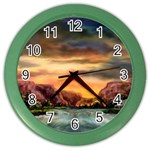 Abigail s Hideaway by Ave Hurley - Color Wall Clock