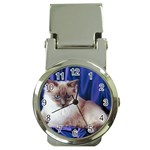 Rag Doll Cat D4 Money Clip Watch