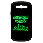 Something Wrong With Human Evolution Humor Samsung Galaxy S III Hardshell Case (PC+Silicone)
