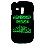 Something Wrong With Human Evolution Humor Samsung Galaxy S3 MINI I8190 Hardshell Case
