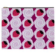 Cake Top Grape Cosmetic Bag (xxxl) by strawberrymilk