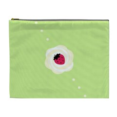 Cake Top Lime Cosmetic Bag (xl) by strawberrymilk