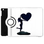 Forever Love Cubic Apple iPad Mini Flip 360 Case
