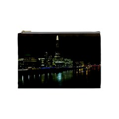 The Shard And Southbank London Medium Makeup Purse by Londonimages