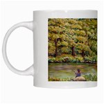 Tenant House In Summer  by Ave Hurley White Mug