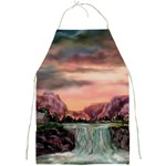 Brentons Waterfalls By Ave Hurley Full Print Apron