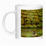 Tenant House in Summer by Ave Hurley - Night Luminous Mug