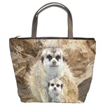 Meerkat Baby And Mothers Love Bucket Bag
